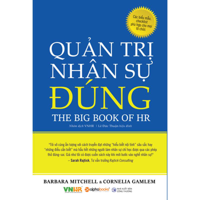 Quản Trị Nhân Sự Đúng - The Big Book of HR