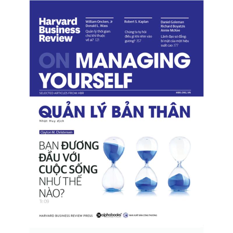 HBR ON MANAGING YOURSELF - Quản Lý Bản Thân