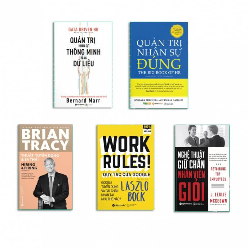Combo 5 cuốn: Quản trị nhân sự dành cho nhà quản lý