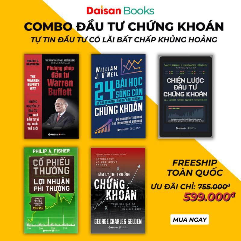 Combo 5 Cuốn Sách Chứng Khoán Thời Khủng Hoảng