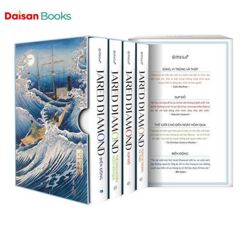 Bộ Sách Lịch Sử Nhân Loại - Jared Diamond (Bộ 4 Cuốn)