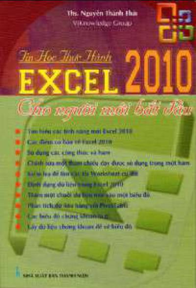 Tin Học Thực Hành - Excel 2010 Cho Người Mới Bắt Đầu